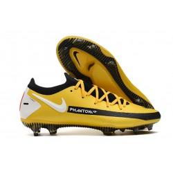 New Nike Phantom GT Elite FG Boots Yellow Black White