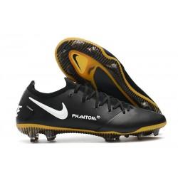 New Nike Phantom GT Elite Tech Craft FG Boots Black White Gold