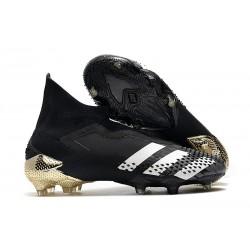 Adidas New Predator Mutator 20+ FG Core Black White Gold Metallic