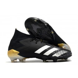 adidas Predator Mutator 20.1 FG Shoes Core Black White Gold Metallic