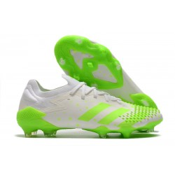 adidas Predator Mutator 20.1 Low Cut FG White Green