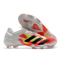 adidas Predator Mutator 20.1 Low Cut FG Uniforia - White Core Black Pop