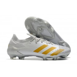 adidas Predator Mutator 20.1 Low Cut FG White Gold