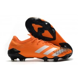 adidas Predator Mutator 20.1 Low Cut FG Orange Black White