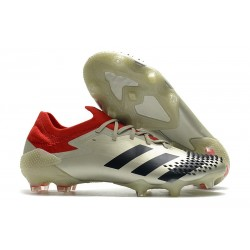 News adidas Predator Mutator 20.1 Low FG Off White Red Black