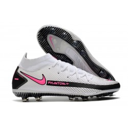 Nike Phantom GT Elite DF AG-PRO Artificial-Grass White Pink Black