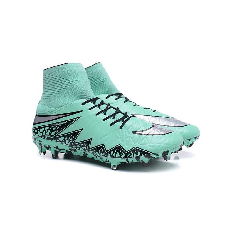 lowest price fd1a0 92026 Neymar New Nike Hypervenom Phantom II FG Soccer Cleats Green ...