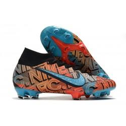 Nike Mercurial F.C. Mexico City Superfly 7 Elite DF FG Orange Blue