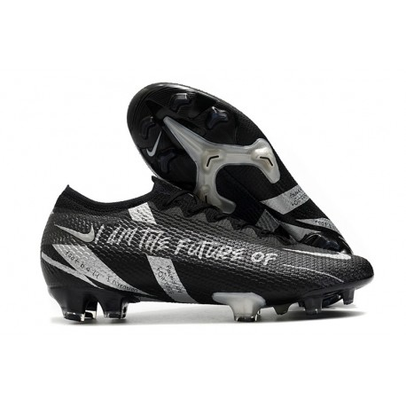 News Nike Mercurial Vapor 13 Elite FG - Future Black Silver