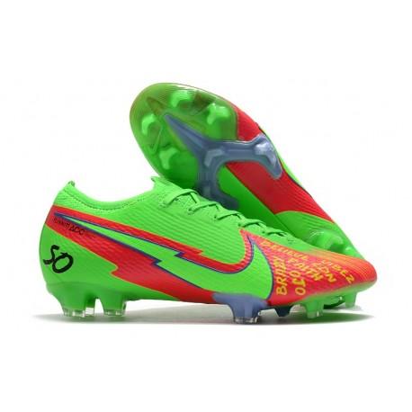 News Nike Mercurial Vapor 13 Elite FG Faith Green Red