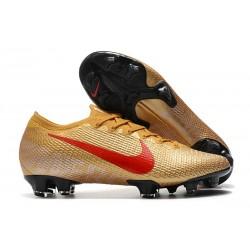 News Nike Mercurial Vapor 13 Elite FG - Gold Red