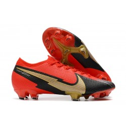 News Nike Mercurial Vapor 13 Elite FG - Red Black Golden