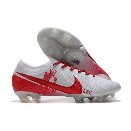 News Nike Mercurial Vapor 13 Elite FG -LFC White Red