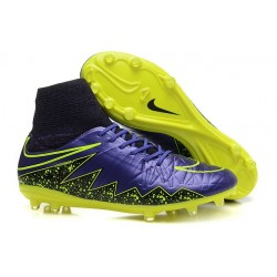 Neymar New Nike Hypervenom Phantom II FG Soccer Cleats Hyper Grape Black Volt