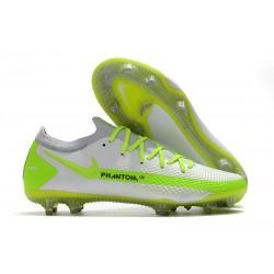 New Nike Phantom GT Elite FG Boots White Volt