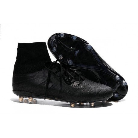 35647ddb4c5 Neymar New Nike Hypervenom Phantom II FG Soccer Cleats All Black