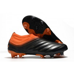 adidas Copa 20+ K-leather FG Soccer Cleat - Signal Coral Core Black Glory Red