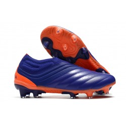 adidas Copa 20+ K-leather FG Soccer Cleat - Purple Green