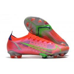 Nike Mercurial Vapor 14 Elite FG Shoes Bright Crimson Metallic Silver