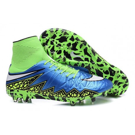 417d7d2c4b7 Nike Hypervenom Phantom 2 FG Firm Ground Boots Blue Lagoon White Volt