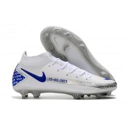 Nike Phantom GT Elite DF FG New 2021 White Blue