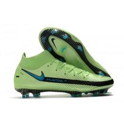Nike Phantom GT Elite DF FG New 2021 Green Blue Black
