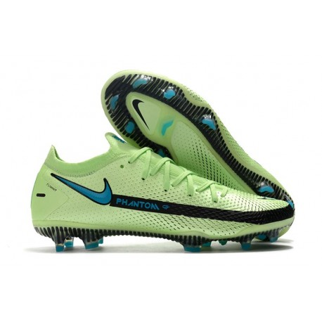 New Nike Phantom GT Elite FG Boots Impulse - Lime Glow Aquamarine