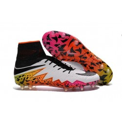 Nike Hypervenom Phantom 2 FG Firm Ground Boots White/Total Orang