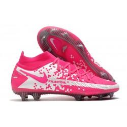 Nike Phantom Generative Texture Elite DF FG Pink White
