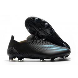 adidas X Ghosted.1 FG Black Blue