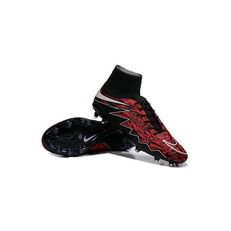 timeless design 19528 b1579 Robert Lewandowski Nike Hypervenom Phantom 2 FG Firm Ground Boots Red Black  Maximize. Previous. Next