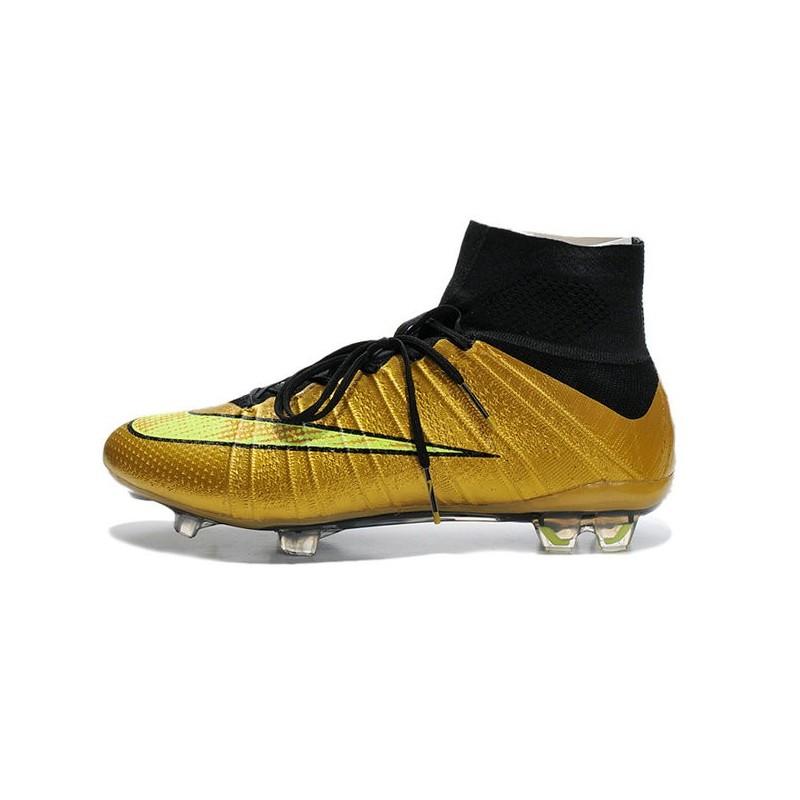 668bba1a7 Cristiano Ronaldo Nike Mercurial Superfly 4 FG Football Boots Gold Black  Maximize. Previous. Next