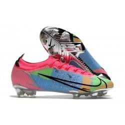 Nike Mercurial Vapor XIV Elite FG Blue Pink Green