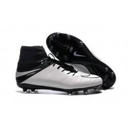 Nike Hypervenom Phantom 2 FG Firm Ground Boots in White Black