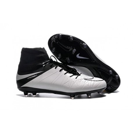 competitive price 5e12e f2a78 Nike Hypervenom Phantom 2 FG Firm Ground Boots in White Black
