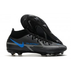 Nike Phantom GT2 Elite DF FG Renew - Black Iron Grey