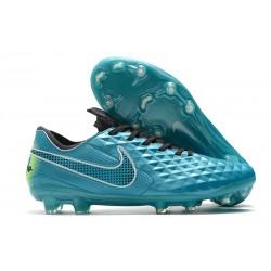 Nike Tiempo Legend 8 Elite FG ACC Boot Aquamarine White Lime Glow
