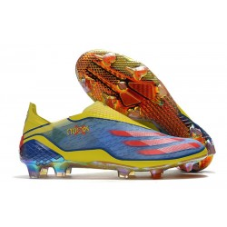 adidas X Ghosted + FG/ AG X-Men Cyclops - Blue /Vivid Red/ Bright Yellow LIMITED EDITION