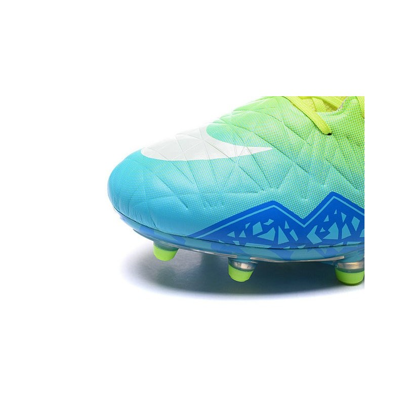 f3a2ac2fa ... coupon code for new 2016 nike hypervenom phantom ii fg acc neymar cleat  green blue white