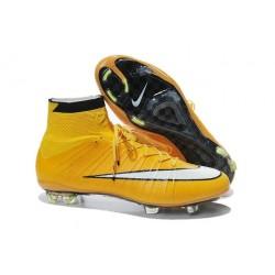 Cristiano Ronaldo Nike Mercurial Superfly 4 FG Football Boots Laser Orange White