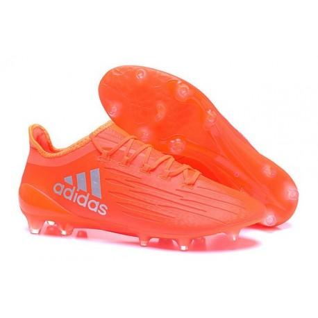 half off 028ea 41100 New 2016 adidas X 16.1 FG Firm Ground Soccer Boots Orange Silver