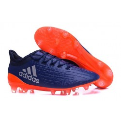 New 2016 adidas X 16.1 FG Firm Ground Soccer Boots Blue Orange
