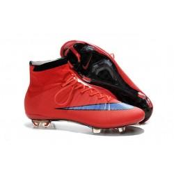 Cristiano Ronaldo Nike Mercurial Superfly 4 FG Football Boots Red Purple