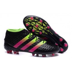 adidas Ace 16.1 FG New 2016 Soccer Boots Black Pink