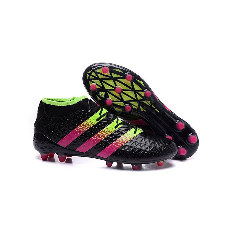 fe6a9b19d80e adidas Ace 16.1 FG New 2016 Soccer Boots Black Pink