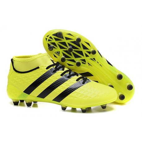 finest selection b215e 42e0f adidas Ace 16.1 FG New 2016 Soccer Boots Yellow Black