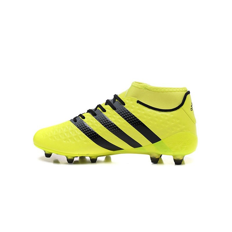 finest selection 2b551 2d706 adidas Ace 16.1 FG New 2016 Soccer Boots Yellow Black