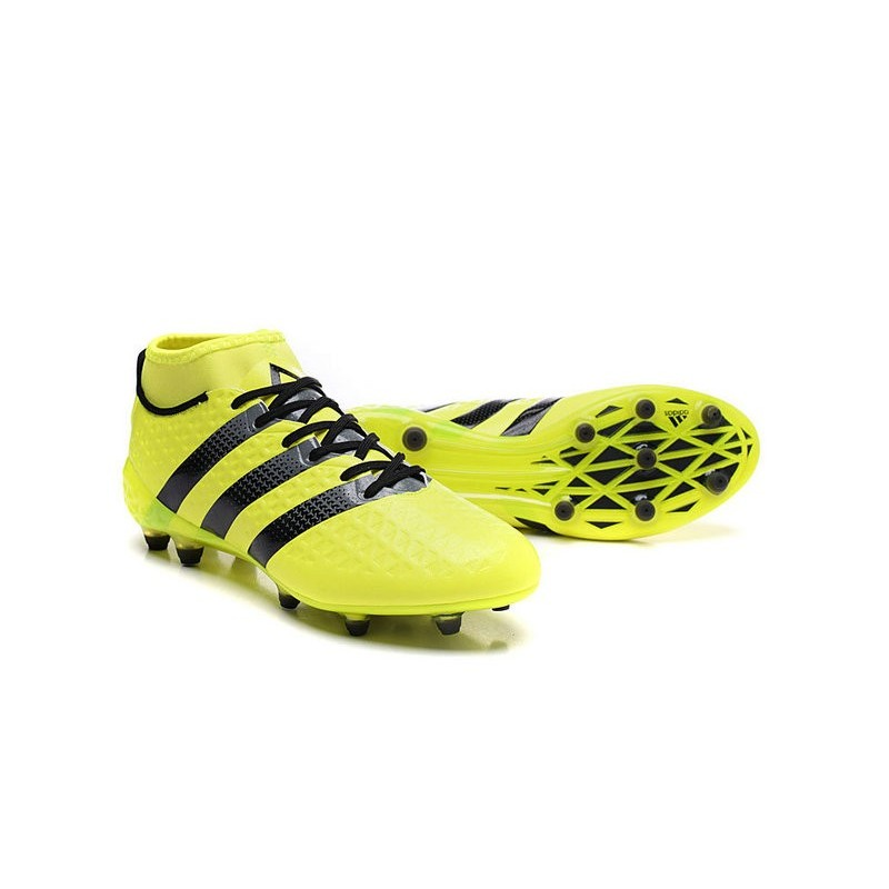 finest selection 0813f 8c032 adidas Ace 16.1 FG New 2016 Soccer Boots Yellow Black