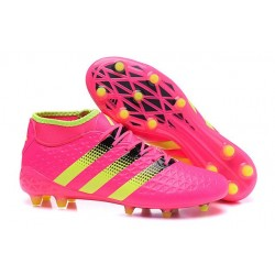 adidas Ace 16.1 FG New 2016 Soccer Boots Pink Yellow