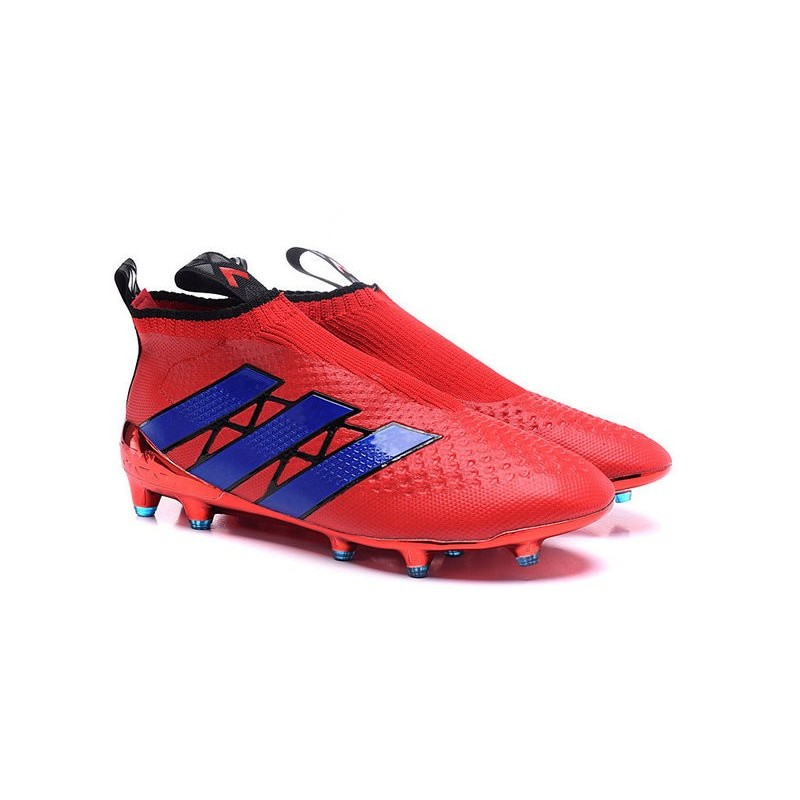 ... adidas ACE 16+ Purecontrol FG Soccer Cleats Red Purple Maximize.  Previous. Next 9146d70f75cd